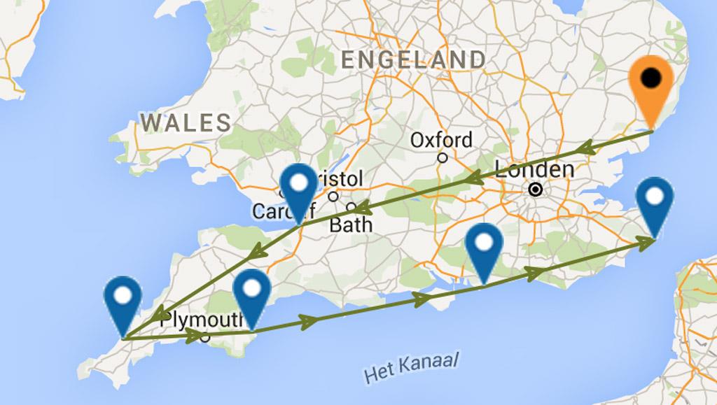 Rondreis Zuid-Engeland met kinderen