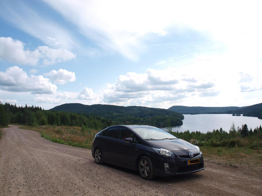Onderweg in Zweden.