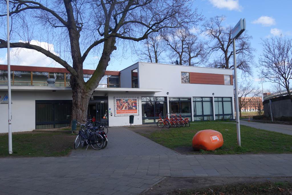 Aankomst bij Stayokay Maastricht.