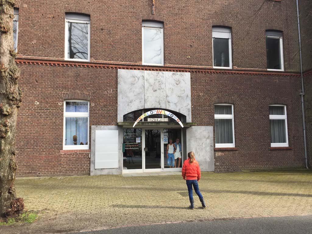 Op ons lijstje voor de volgende keer Noord-Limburg: het Wereldpaviljoen.