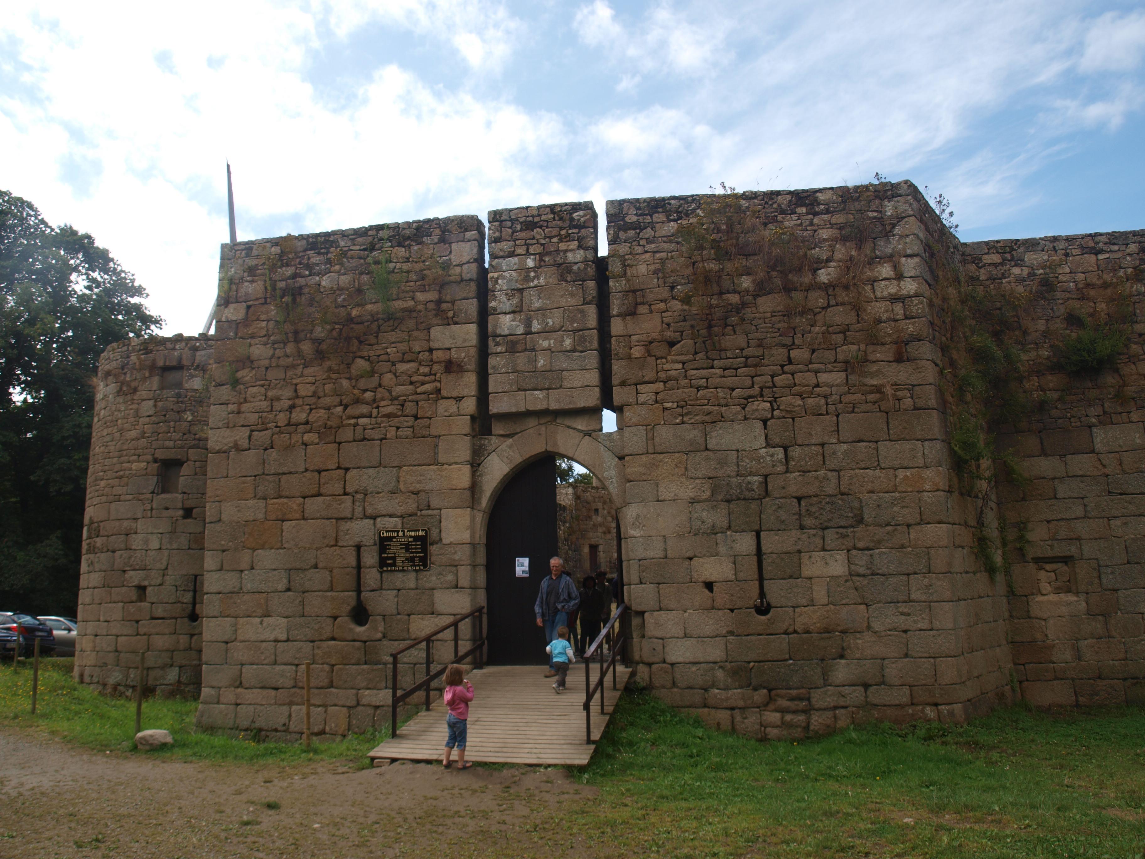 Het stoere kasteel van Tonquedec