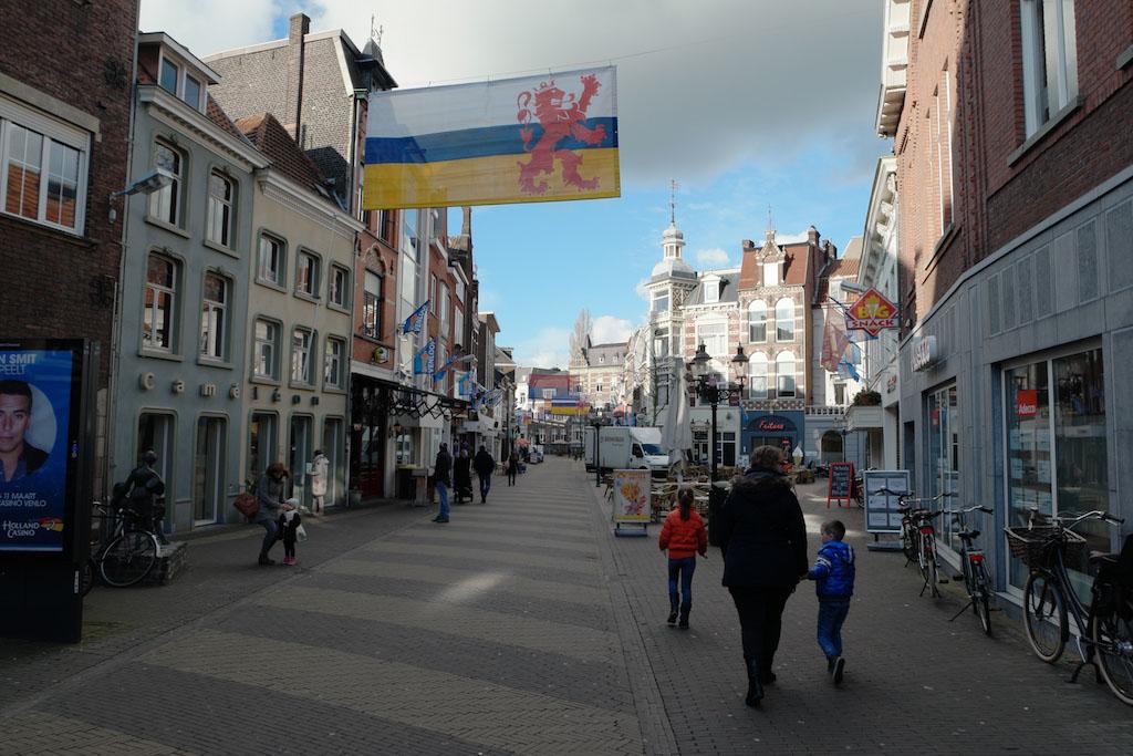 Een van de straatjes met historische panden.