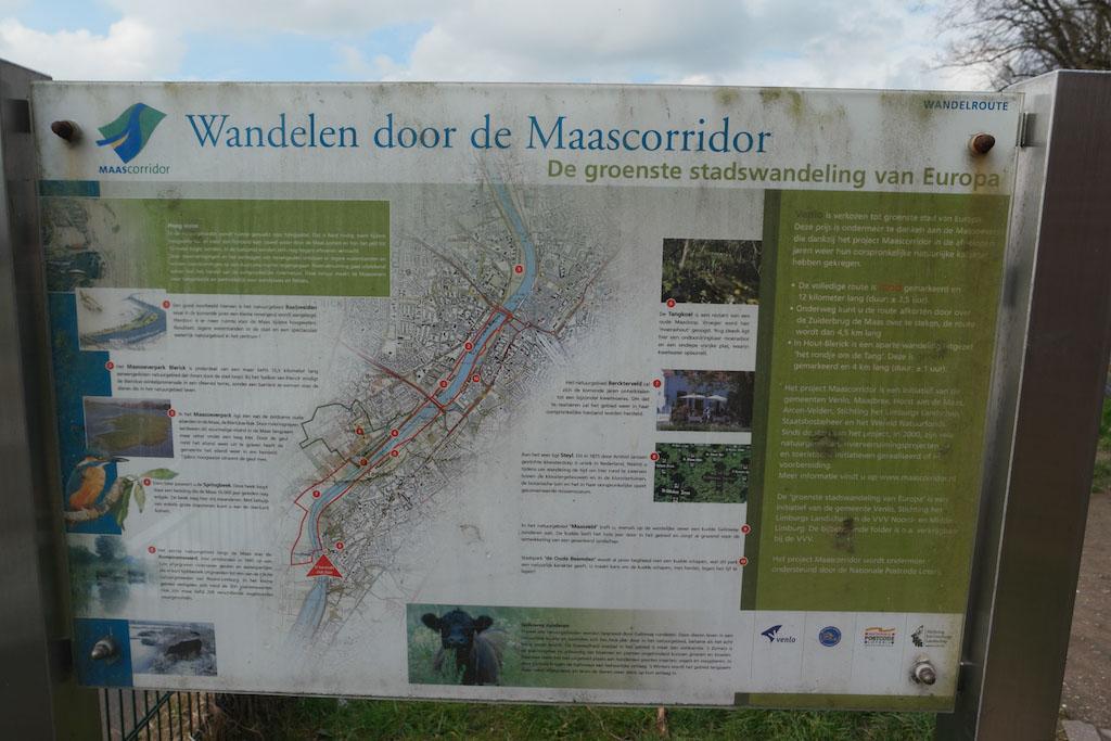 Er zijn meerdere wandelmogelijkheden in Steyl.