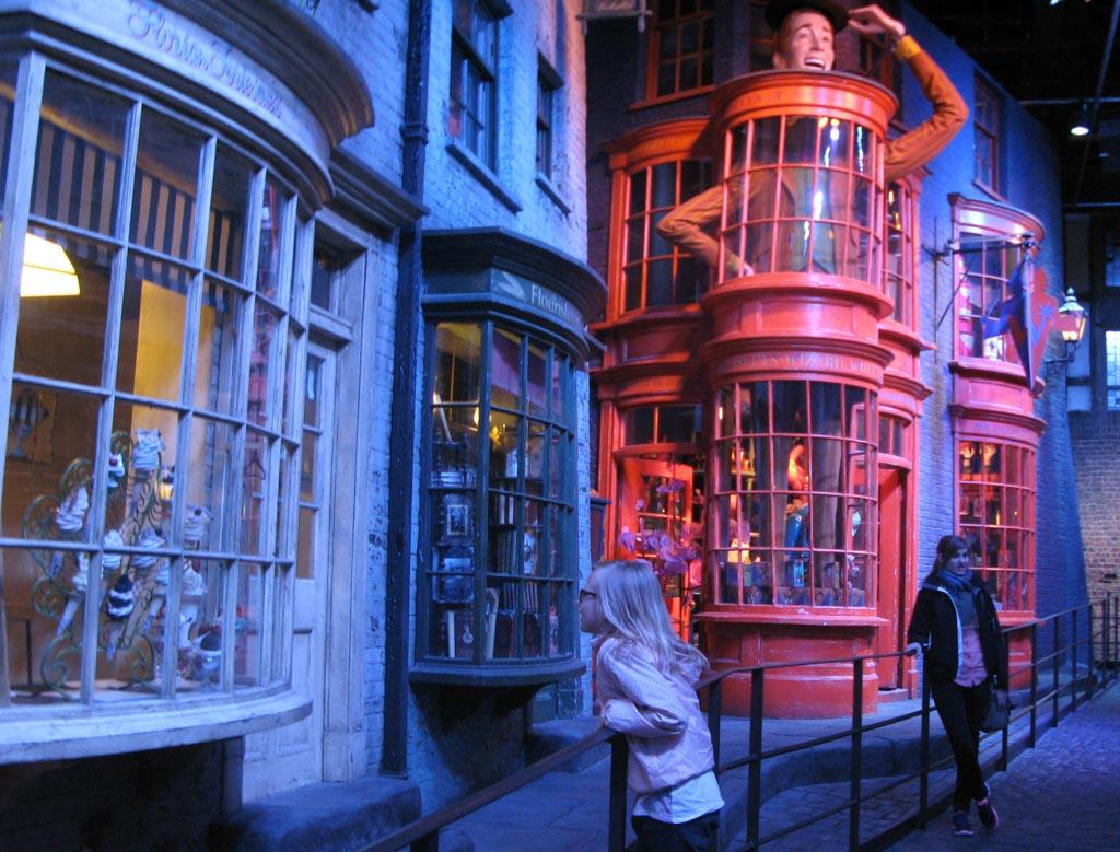 Londen met kinderen-harry-potter