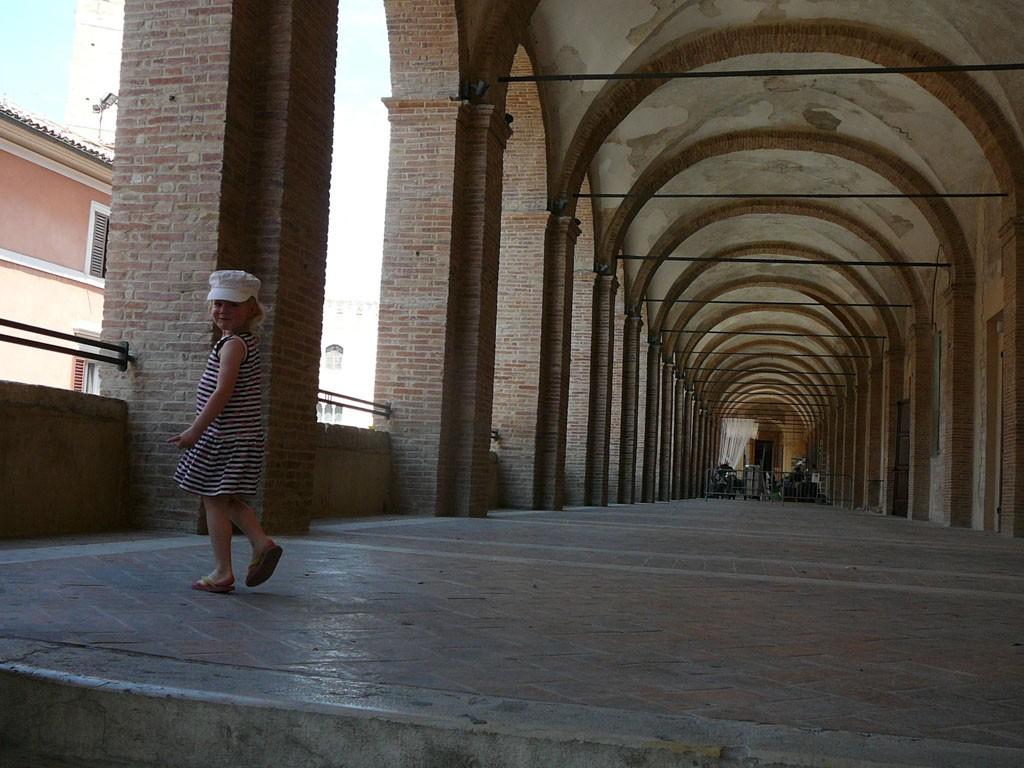 Galerij in Fabriano.