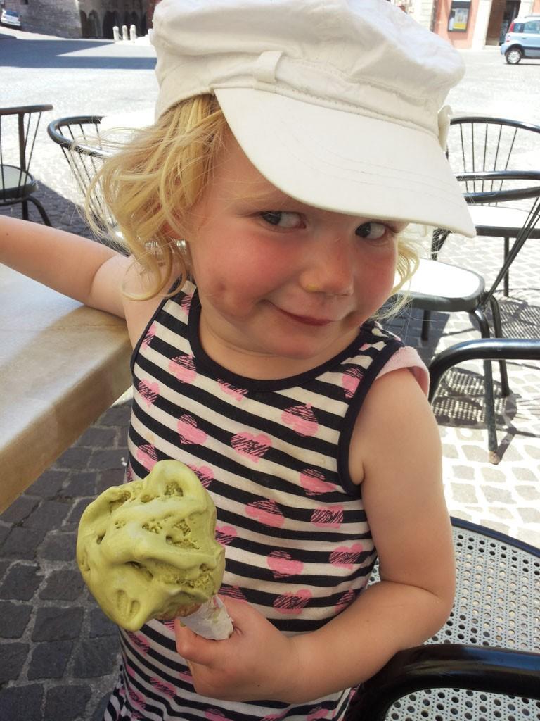 Een italiaans ijsje hoort erbij!