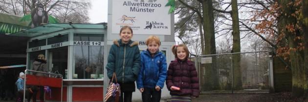 Weer of geen weer: dieren kijken in de Allwetter Zoo in Münster