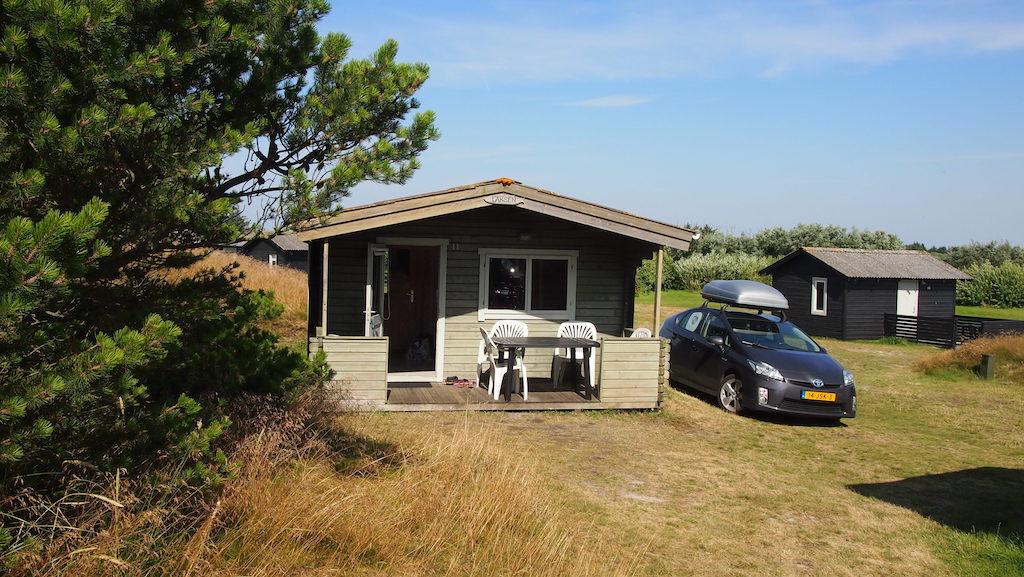 Onze hut.