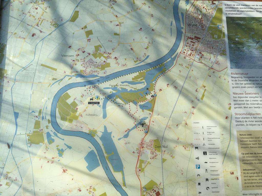 Het hele gebied op kaart.