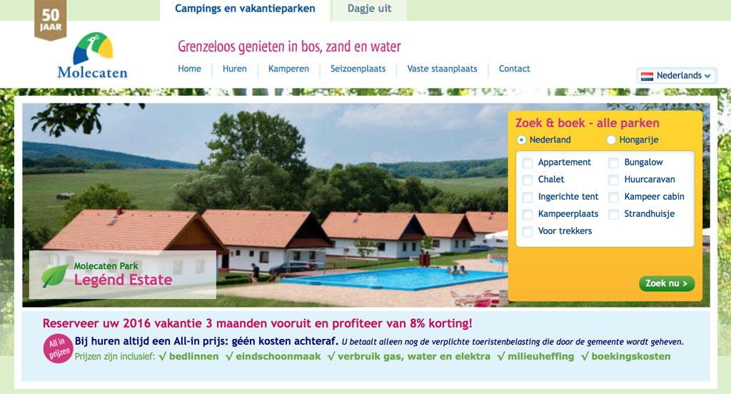 Hongarije met kinderen - bungalowpark Legend Estate