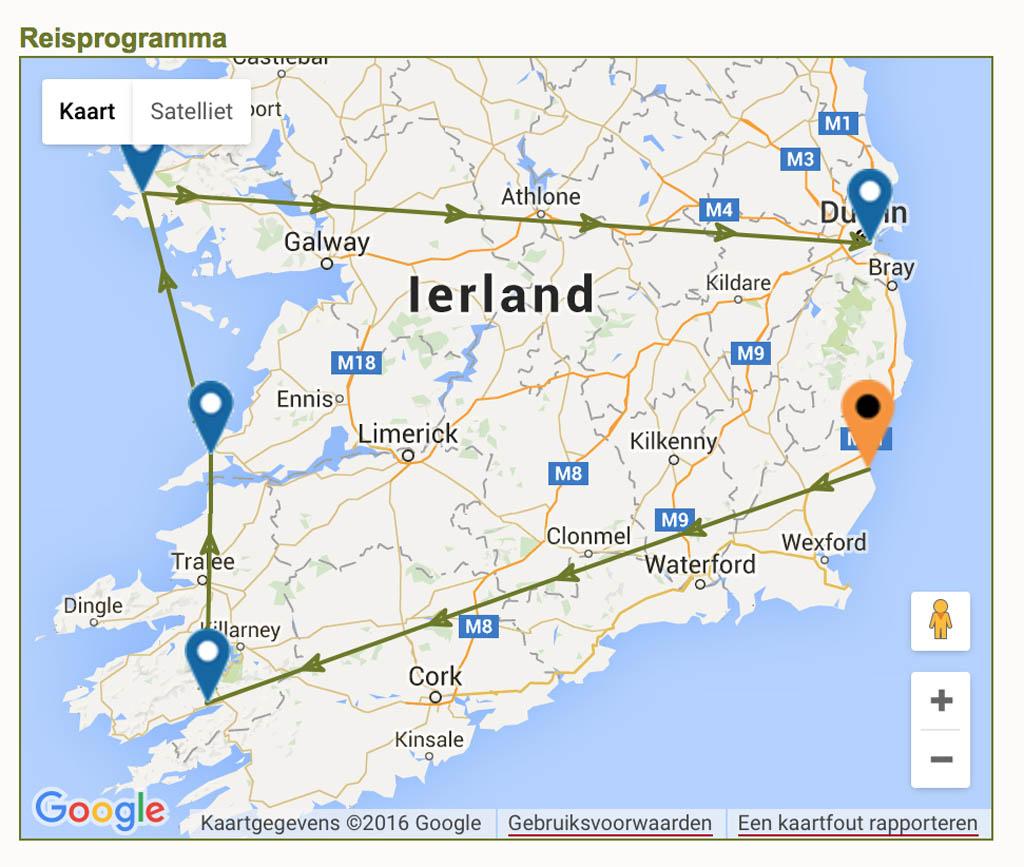 Rondreis van Buro Scanbrit in Ierland.