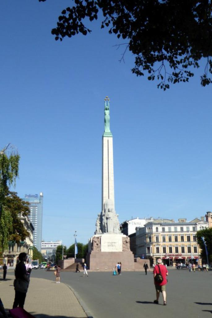 Monument voor de vrijheid.