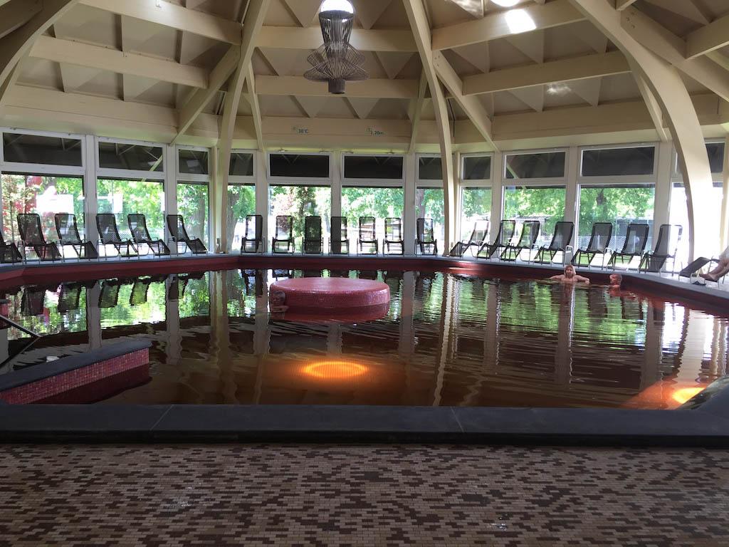 Ook hier zijn meerdere wellness baden.
