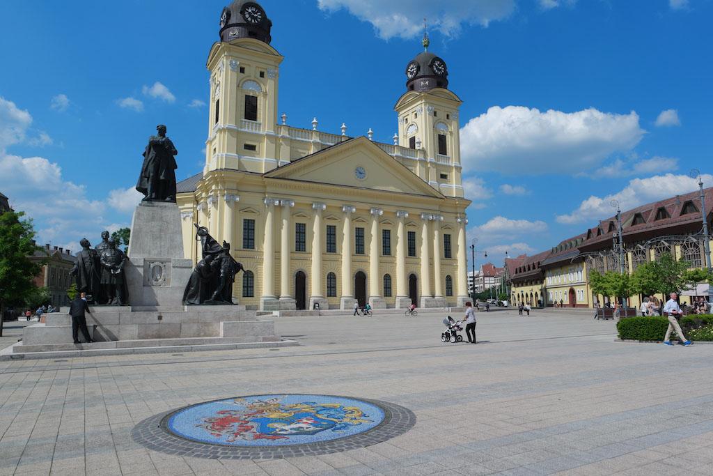 De Grote Kerk in Debrecen met kinderen bezoeken