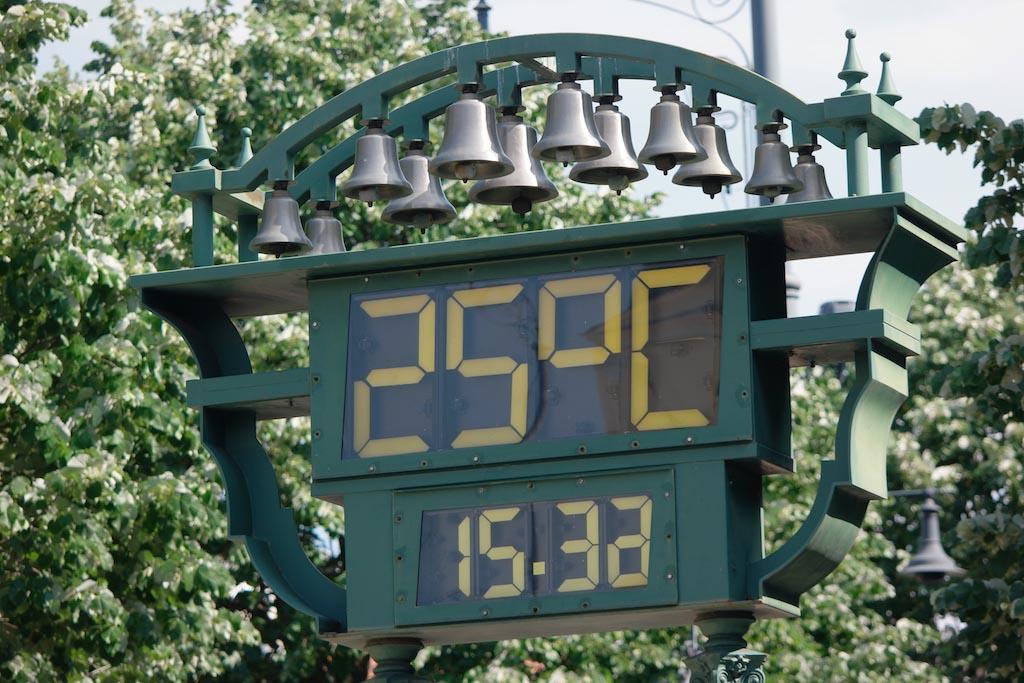Een aangename 25 graden in de tweede helft van mei.