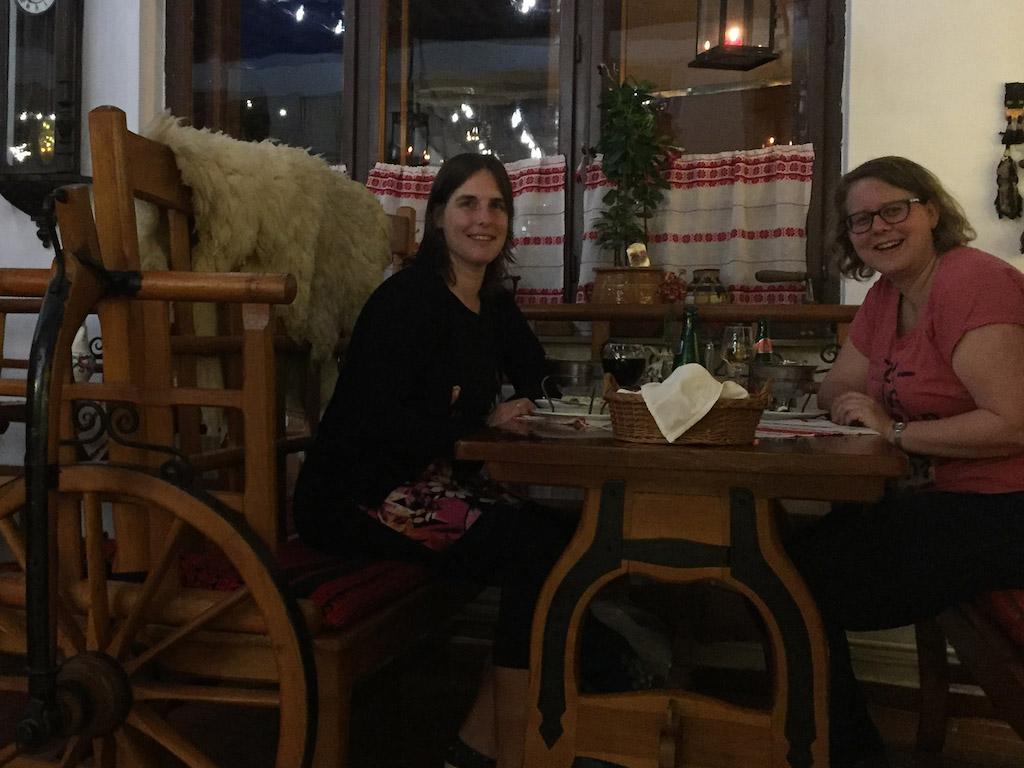 Restaurant in Hongaarse sfeer.