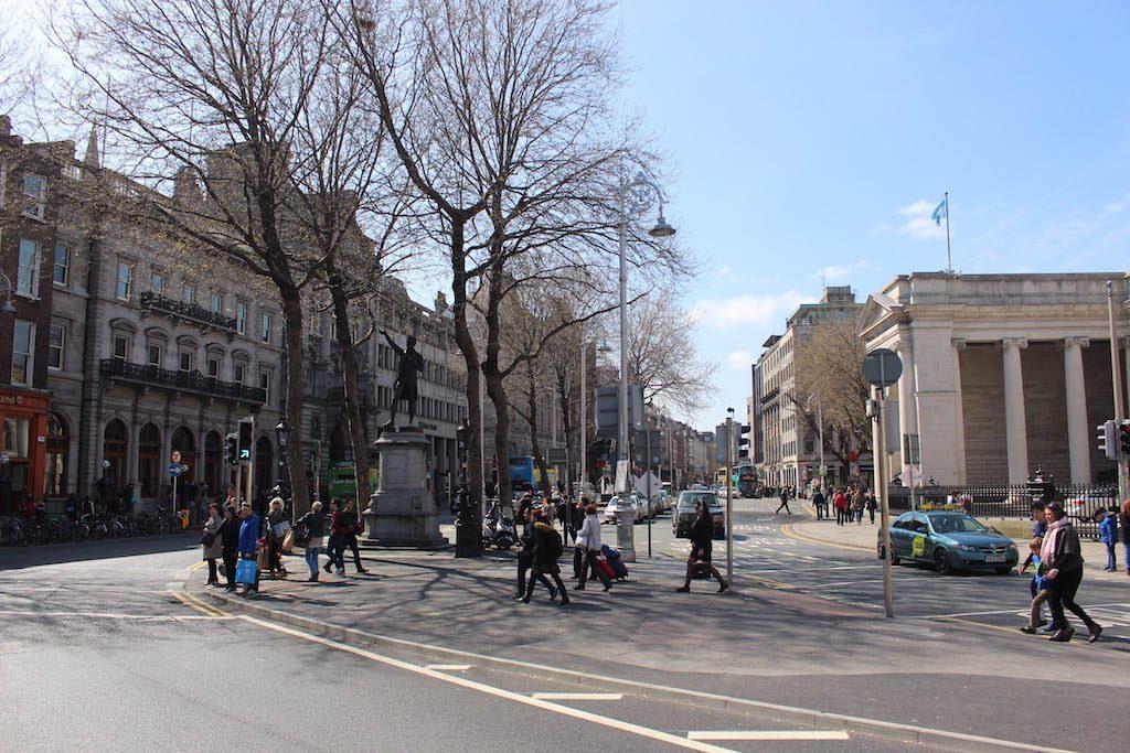 Dublin is een mooie, bruisende stad.