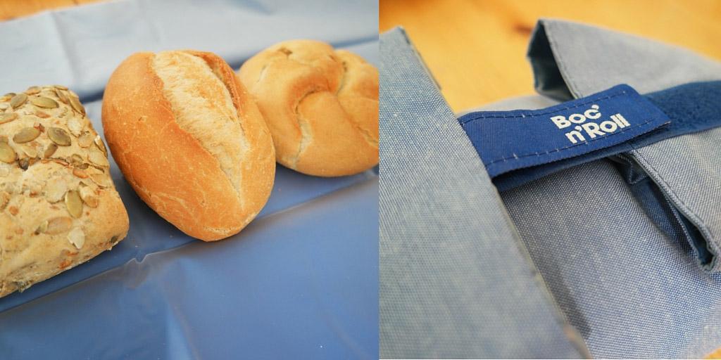 In de sandwich wrap passen makkelijk 3 broodjes, maar ook met minder sluit de verpakking nog goed.
