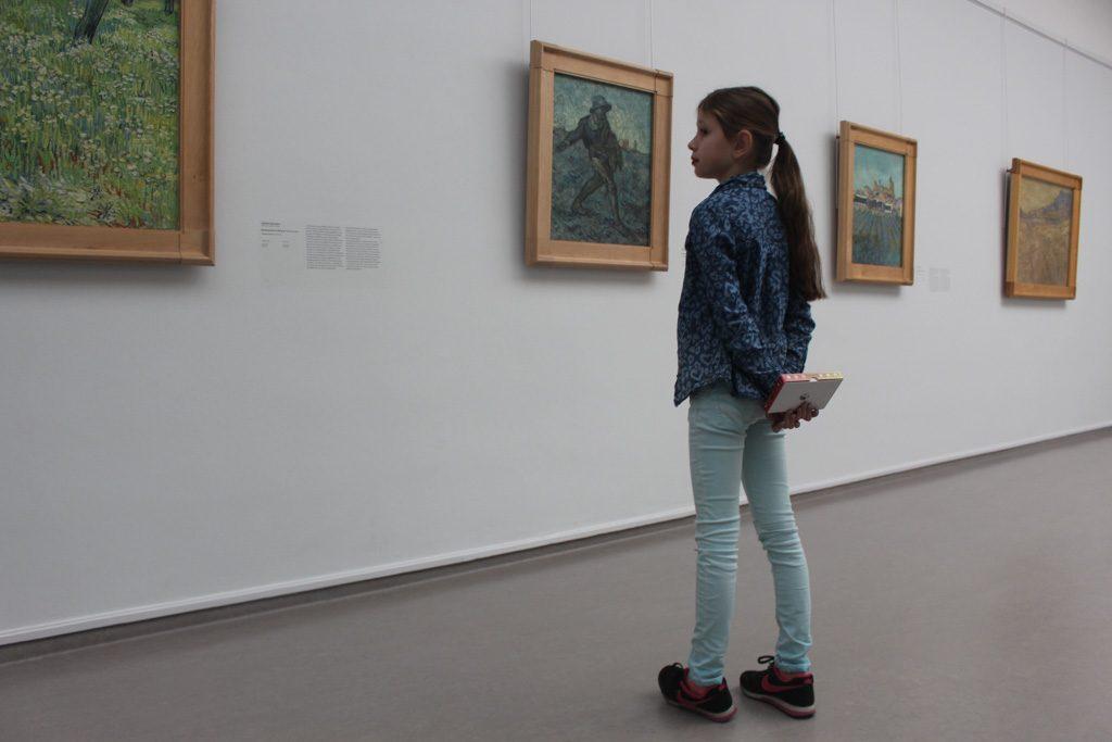Welke kunstenaar werkt het meest precies?