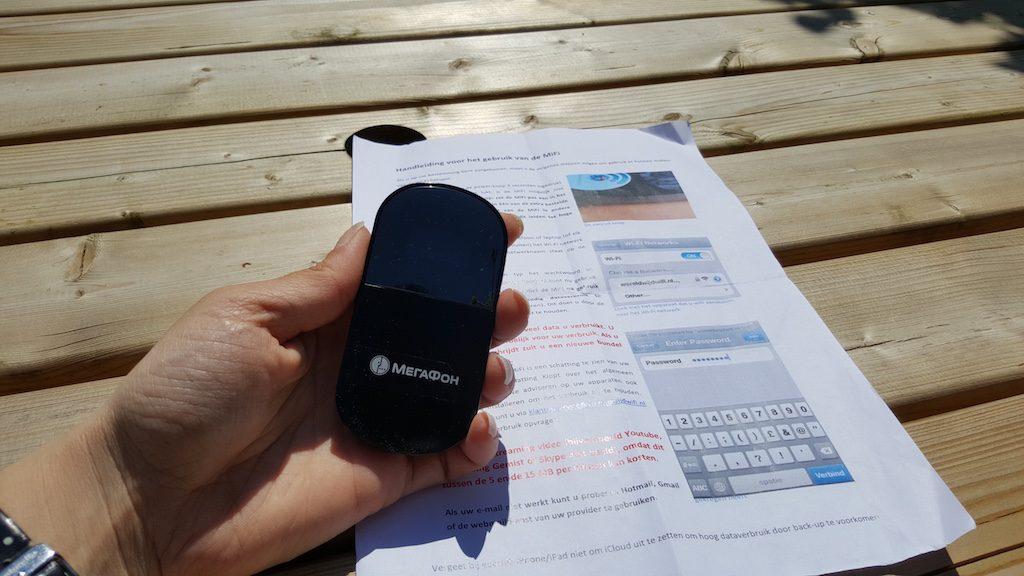 Met een klein apparaatje heb je op reis je eigen hot spot en altijd wifi op vakantie.