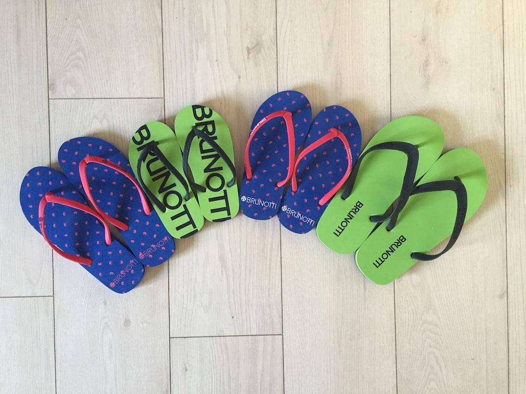 Onze slippers voor het hele gezin.