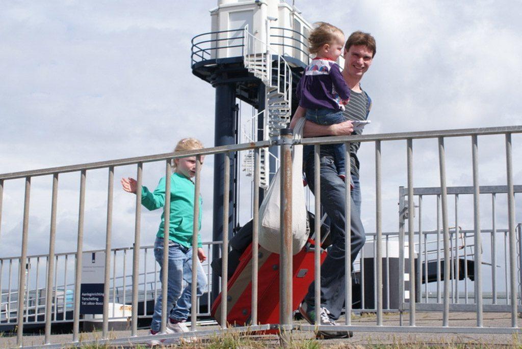 Bepakt de boot op voor een vakantie op Terschelling met kinderen