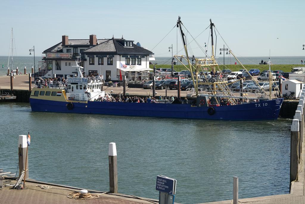 Garnalen vissen met de TX10.