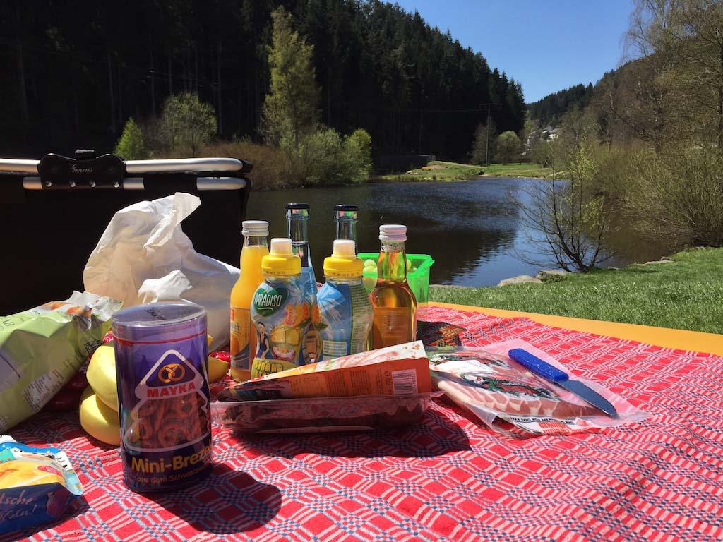 Een heerlijke plek om te picknicken.