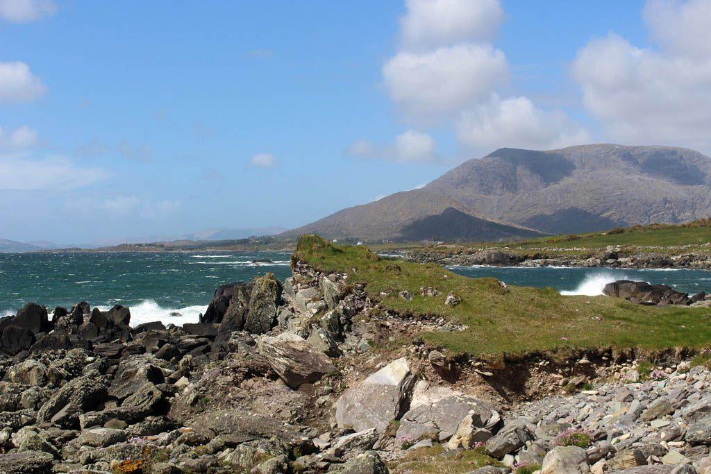 Wij zijn verliefd op de mooie kustlijn van Ierland.