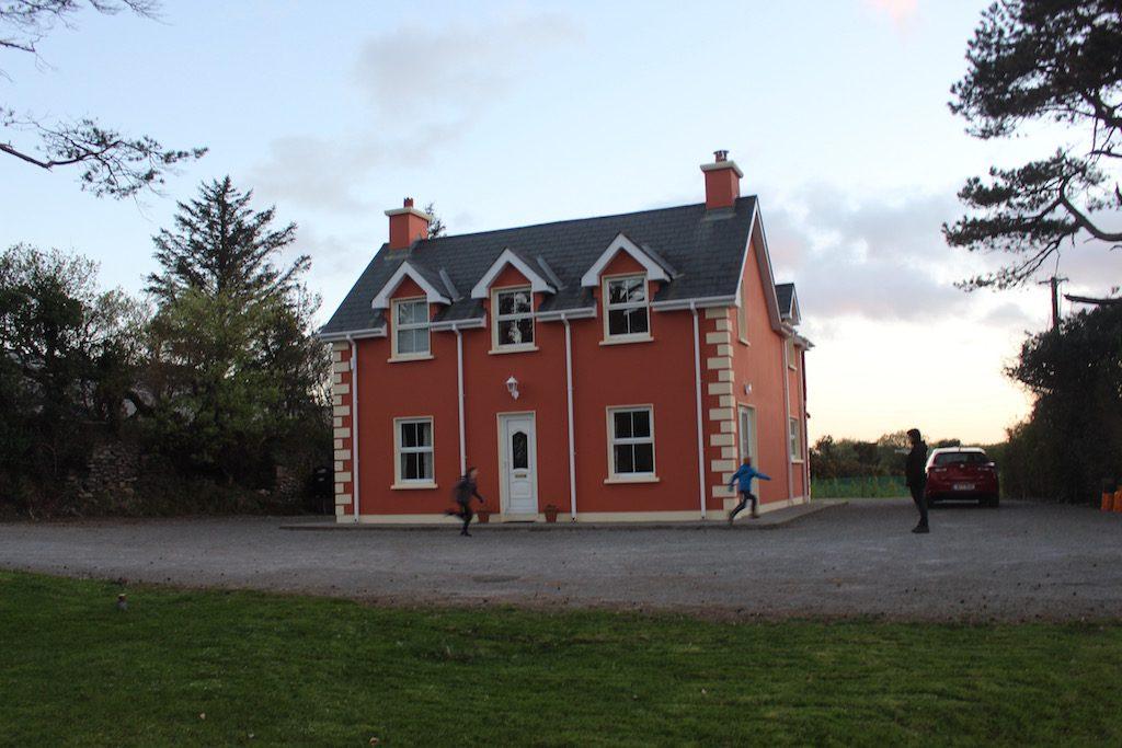 Ons 'thuis' in Ierland. Een heerlijk comfortabel, betaalbaar vakantiehuis van Belvilla.