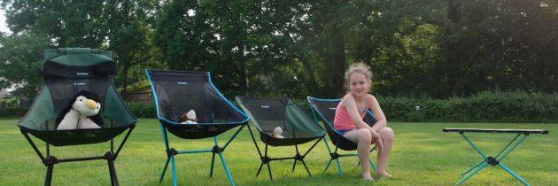 Review: Helinox opvouwbare kampeerstoelen