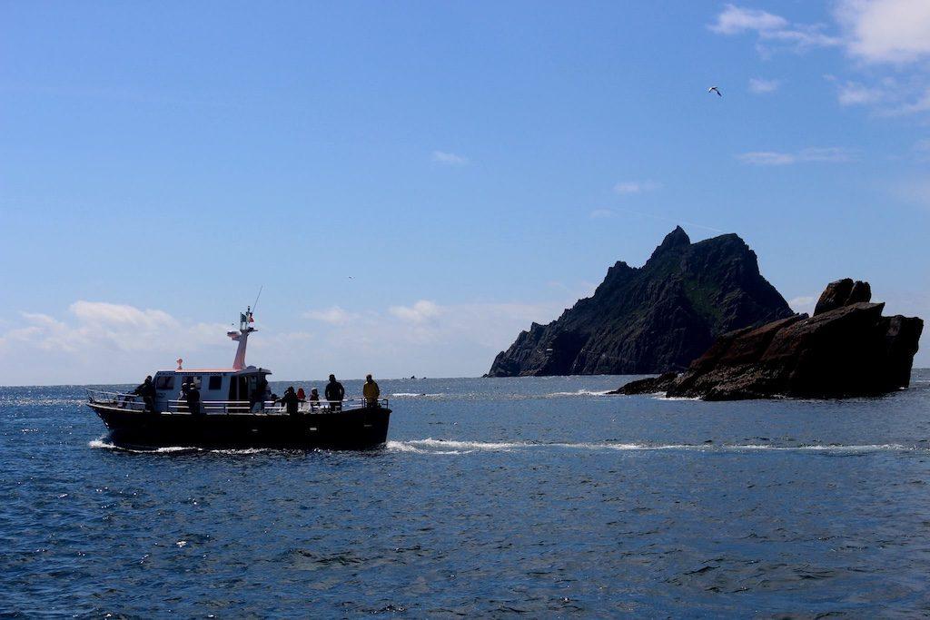 Wat een unieke ervaring deze boottocht naar Skellig Michael met kinderen.