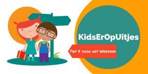 KidsErOpUitjes: de leukste gezinsuitjes in het weekend van 25 en 26 juni 2016