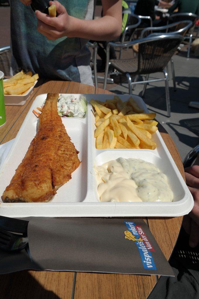 De lekkerste vis eet je bij het Vispaleis Van der Star.