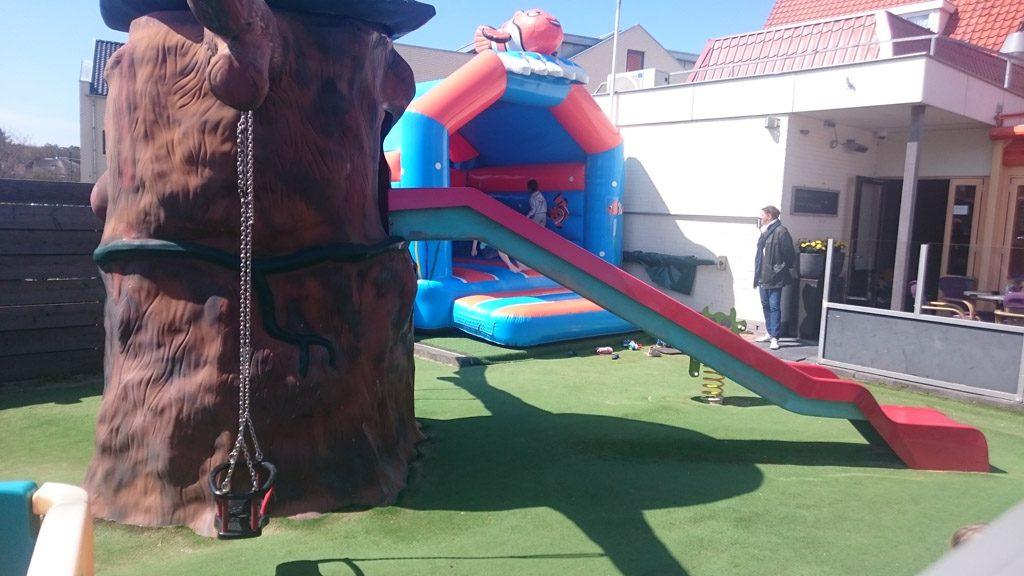 Speeltuin bij Vogelhuis de Oranjerie.