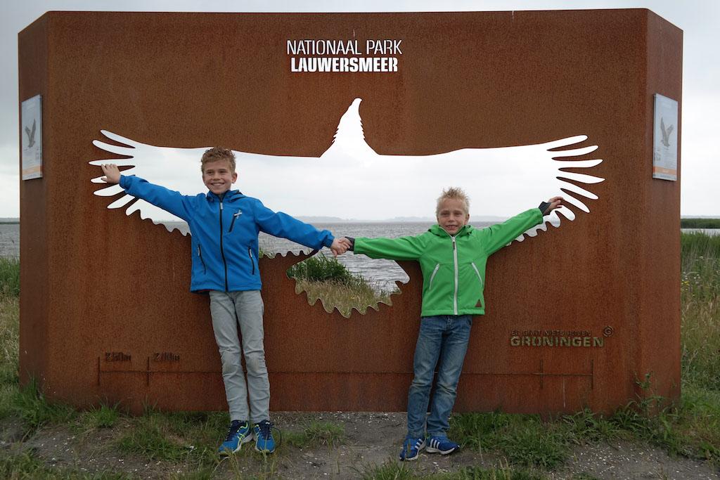 Bezoek aan Nationaal Park Lauwersoog.