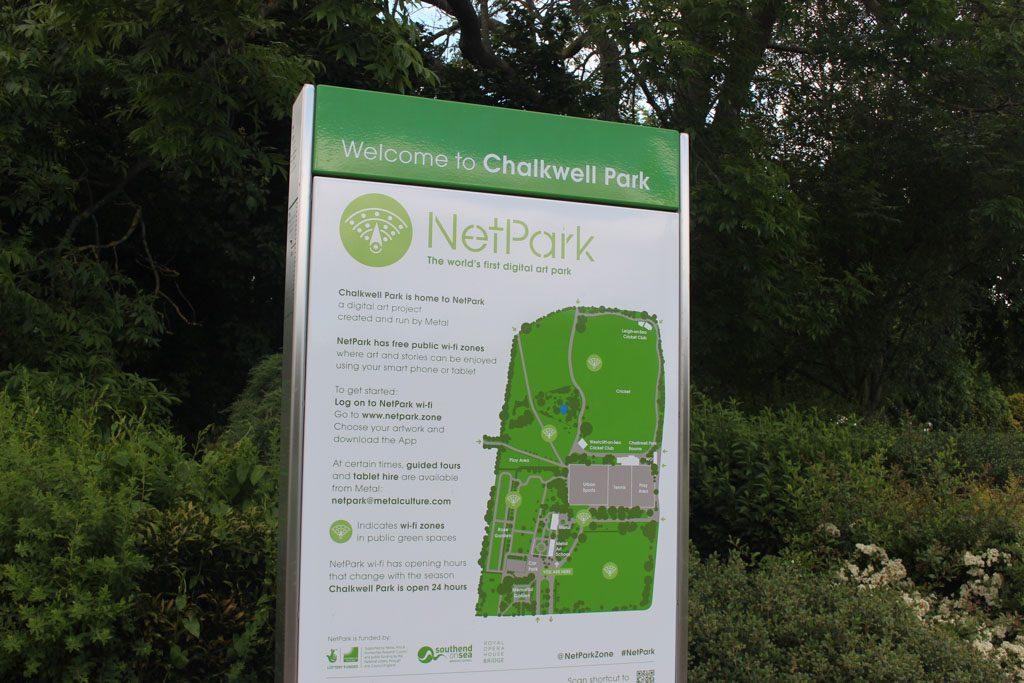 Het eerste digitale park ter wereld.