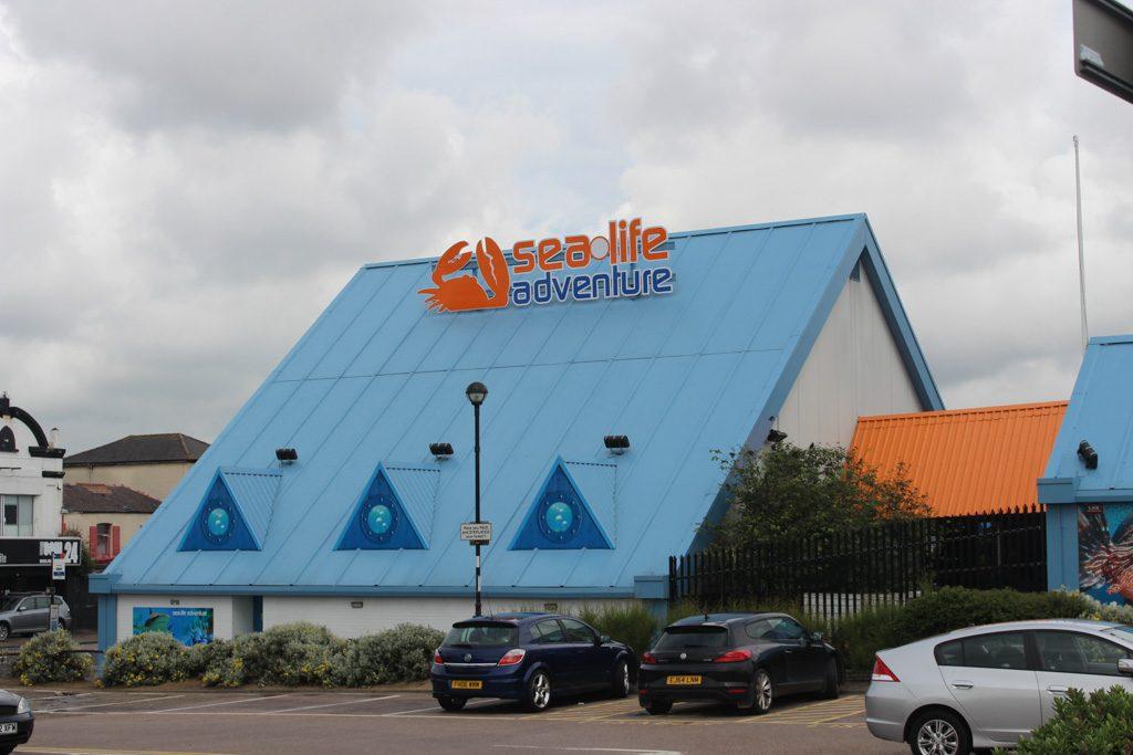 Nog zo'n attractie voor gezinnen: Sea Life.
