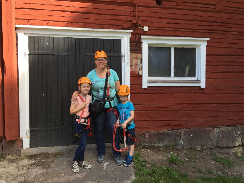 Klaar voor de start bij Hagårds Lagård!