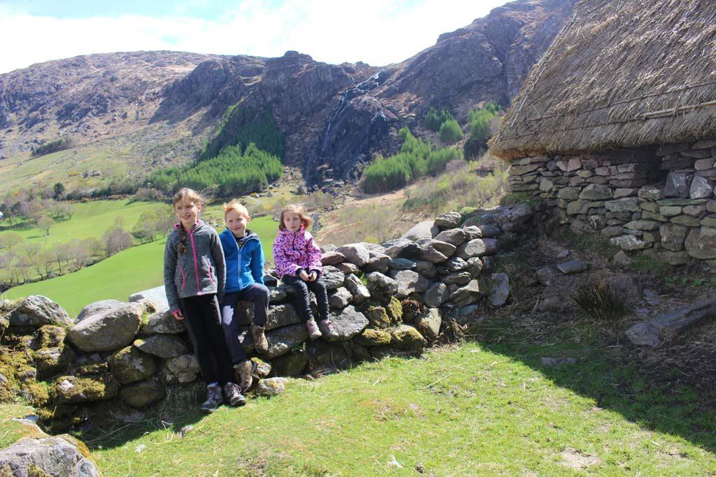 Oude Ierse Nederzetting.