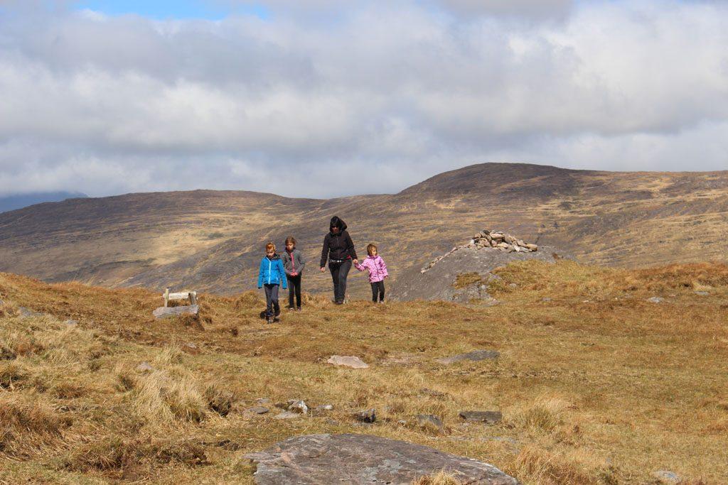 Van het Ierse landschap krijgen wij nooit genoeg.