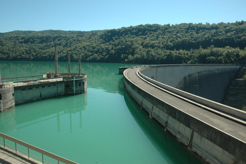 Barrage de Vouglans.