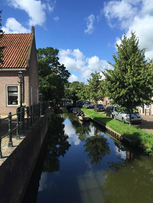 Grachtje in Monnickendam.