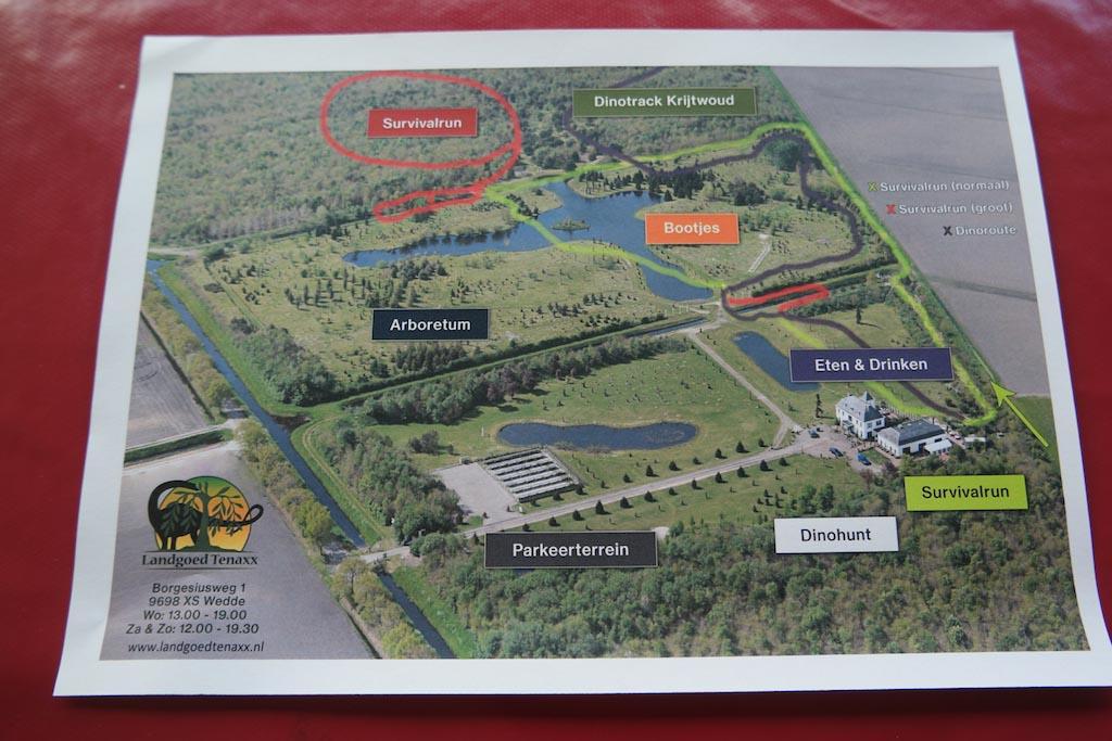 Waar gaan we beginnen met onze wandeling over Landgoed Tenaxx?