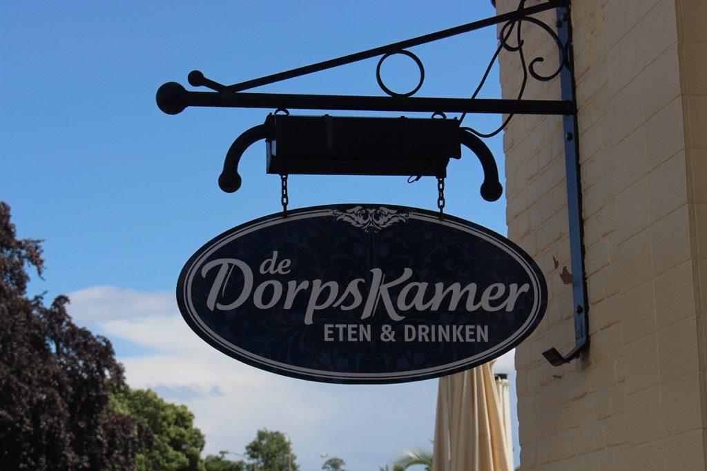 Populair restaurant de Dorpskamer.