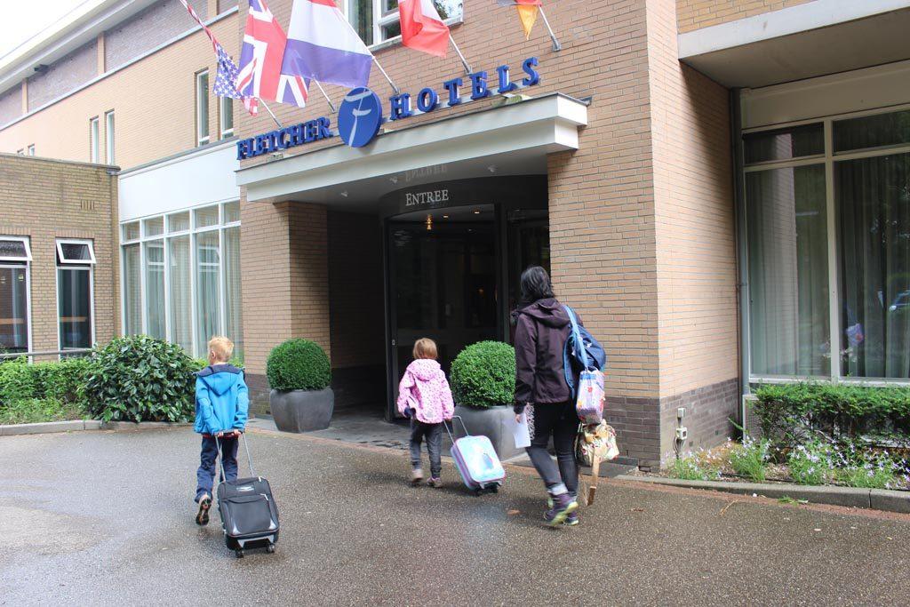 We nemen weer even een pauze van onze expeditie, dit keer in het Fletcher hotel Val Monte.