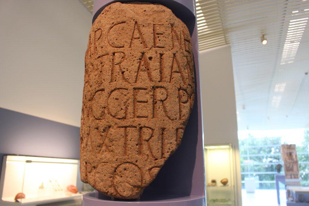 Oude restanten van de Romeinse tijd.