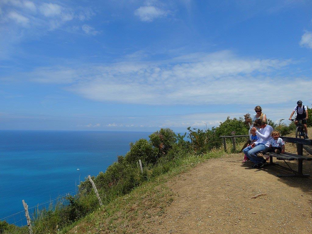 Uitzichtpunt bij Populonia.