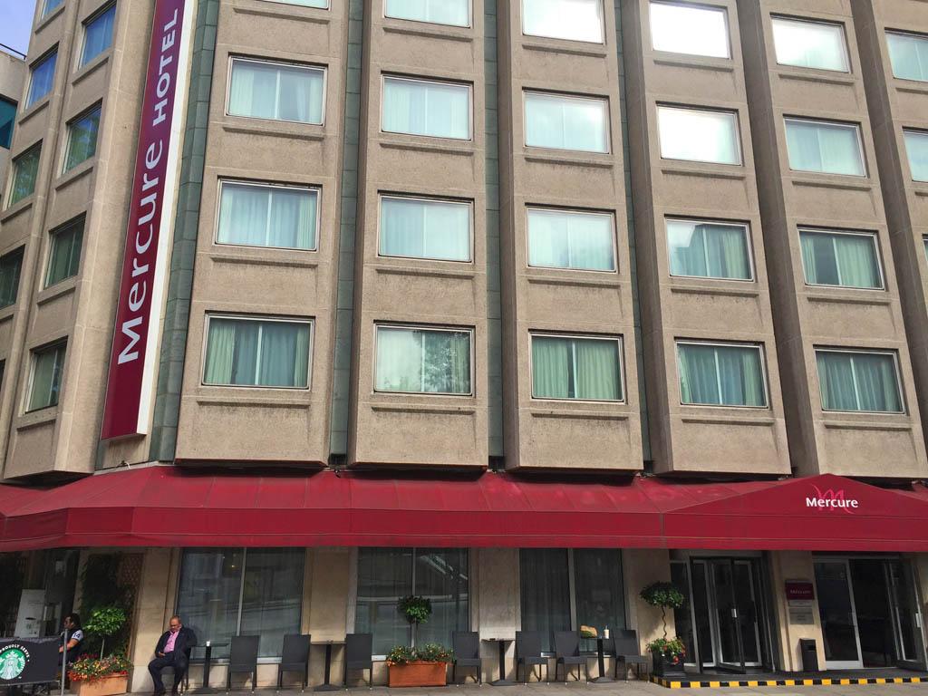 Mercure Hotel Kensington. Een prima uitvalsbasis om Londen te verkennen.