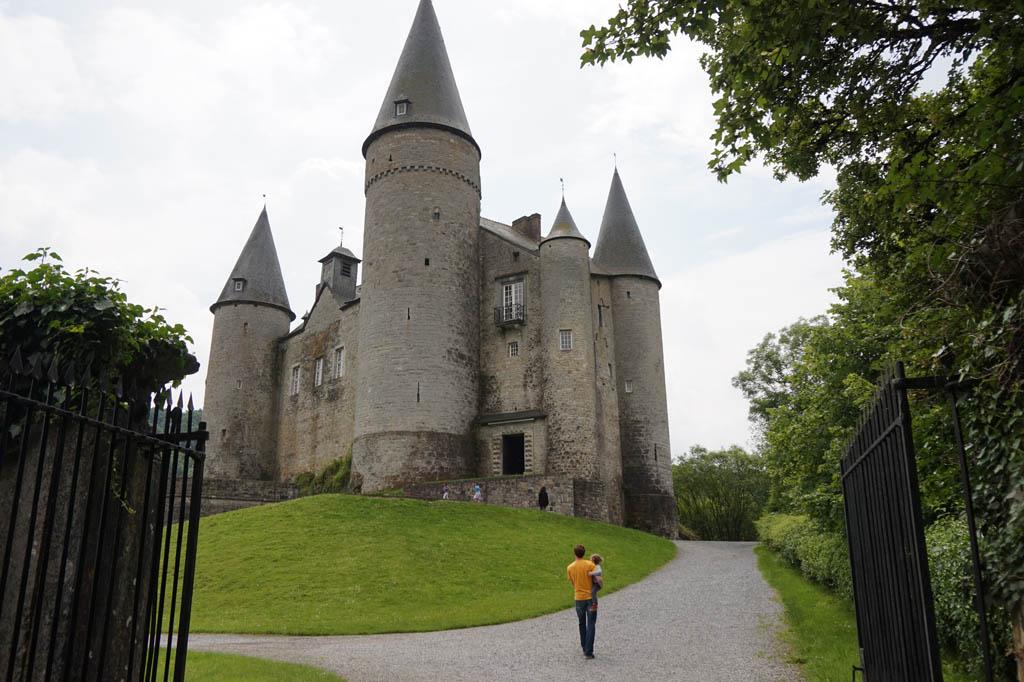 Chateau de Veves is net het kasteel van Assepoester.